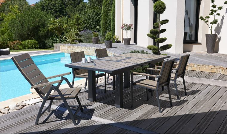 10 questions sur le mobilier de jardin 10 questions for Salon table et chaises de jardin